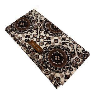 Vera Bradley iD & Check book Holder Thin Wallet
